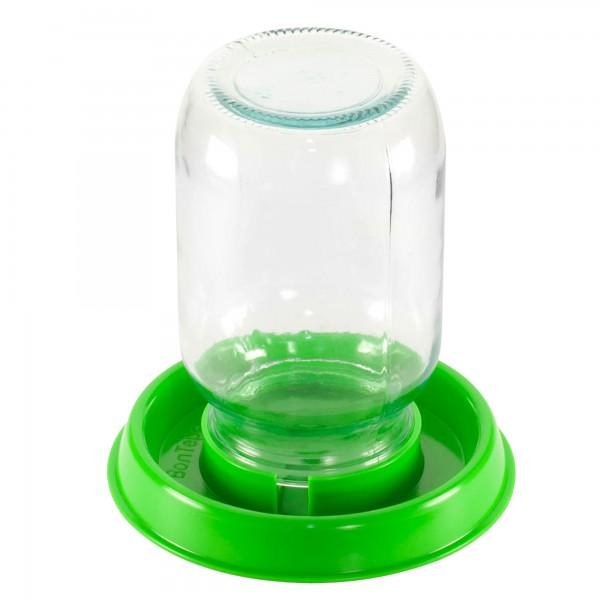 Блюдце под стеклянную банку БС - 01(для вакуумной поилки)